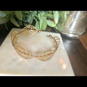 Jewelry - GOLD LEAF BRACELET